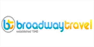 Logo for Broadway Travel